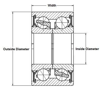 PFI Wheel Bearing Compatible With Daihatsu Xenia, Toyota Avanza PFI  30x62x38mm