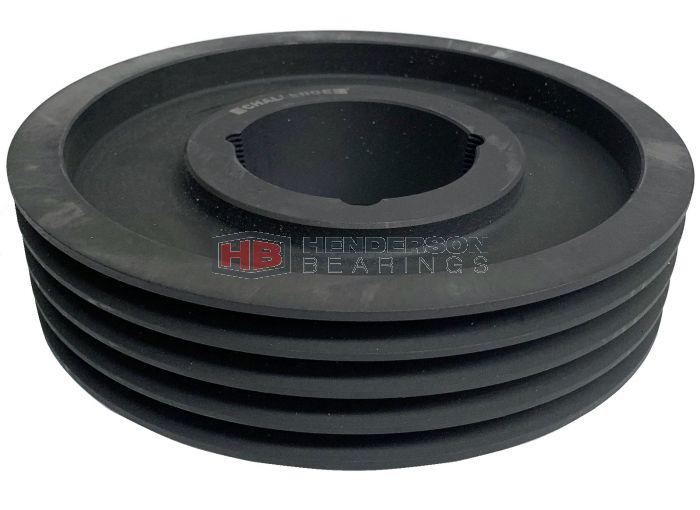 SPB190X4 Taper Lock V Pulley Cast Iron 4 Groove - 2517