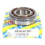AB40361S01 Mini Gearbox Bearing With Circlip Groove on Outer 25x52x15mm