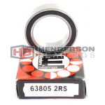 63805-2RS Enduro Bicycle Ball Bearing Abec3 25x37x10mm