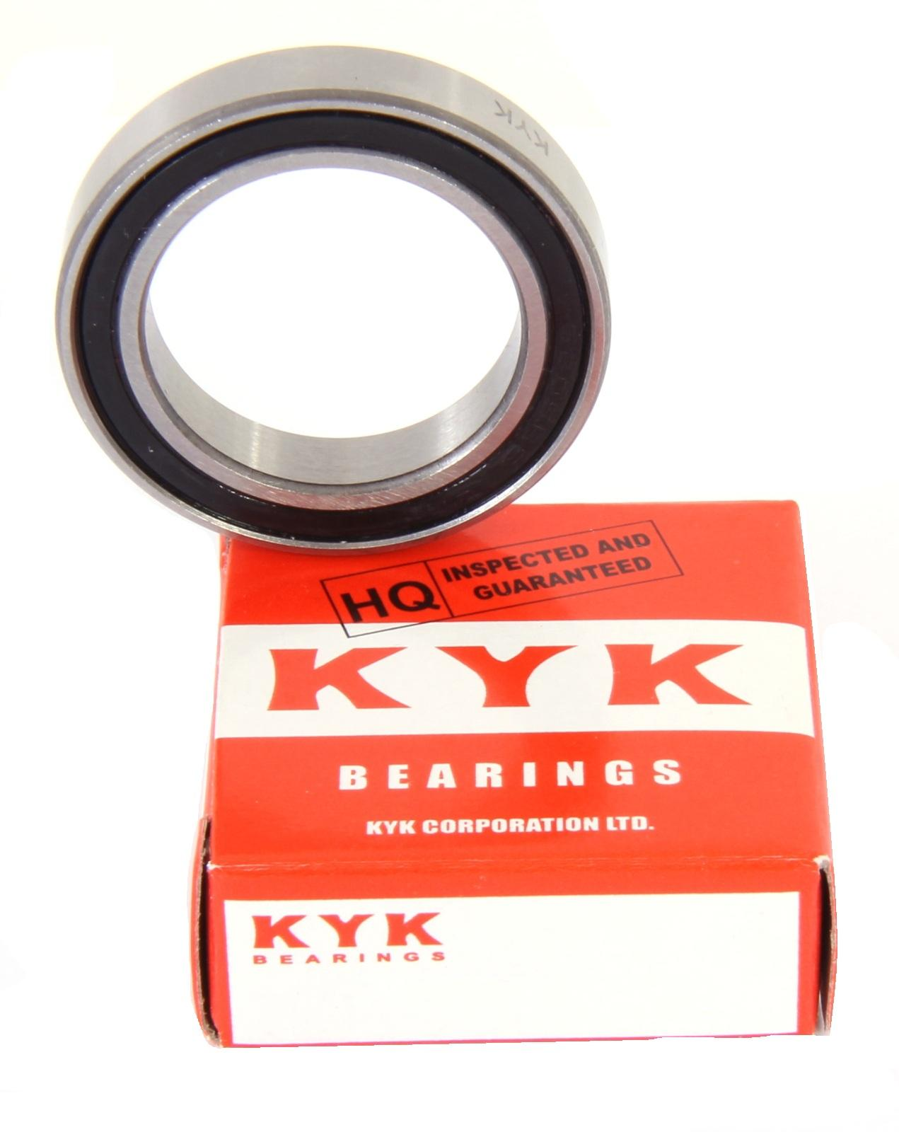 61802 6802 2RS Thin Section Sealed Deep Groove Ball Bearing 15x24x5mm