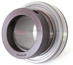 1025-25DECG Bearing Insert Spherical Outer Extended Inner Both Sides With Eccentric Collar Lock RHP 25mm Bore