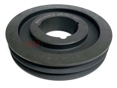 SPA106X2 Taper Lock V Pulley Cast Iron 2 Groove - 1610