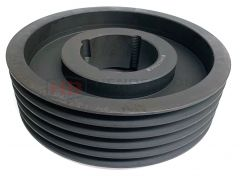 SPA100X5 Taper Lock V Pulley Cast Iron 5 Groove - 1615