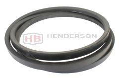 """B49.5 Quality Branded V Belt 17mmx11mm 49.5"""" Inside, 52.25"""" Outside Length"""