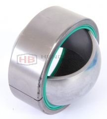 GE25-2RSTGR, aka GE25-2RSETX, GE25-2RSECNIRO, Spherical Plain Bearing LS Stainless Steel/PTFE 25x42x20x16mm