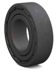 6008-2Z/VA208 High Temperature Deep Groove Ball Bearing With Metal Shields SKF 40x68x15mm
