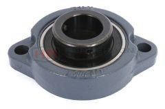 BLF201J 12mm Rhombic-Flanged Type Housed Bearing With Set Screws Brand Koyo