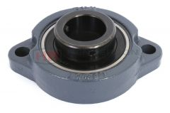 BLF205J 25mm Rhombic-flanged type, Housed Bearing With set Screws brand Koyo