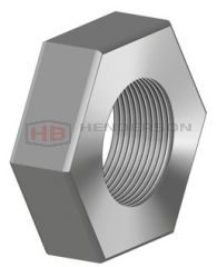 M12x1.25 Left Hand Stainless Steel Lock Nut Suitable for SPOS12Lx1.25 Rod Ends RVH