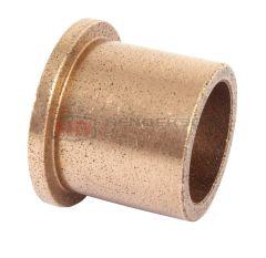 AL202425 Oil Filled Sintered Bronze Bush - Flanged 20x24x25mm