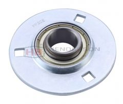 "SAPF205-14, SLFE7/8EC 7/8"" Bore Pressed Steel Round Bearing Unit - Collar Type"