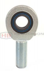 GAR80DO-2RS, SAA80ES-2RS M64x4mm Thin Section Male Right Hand Rod End