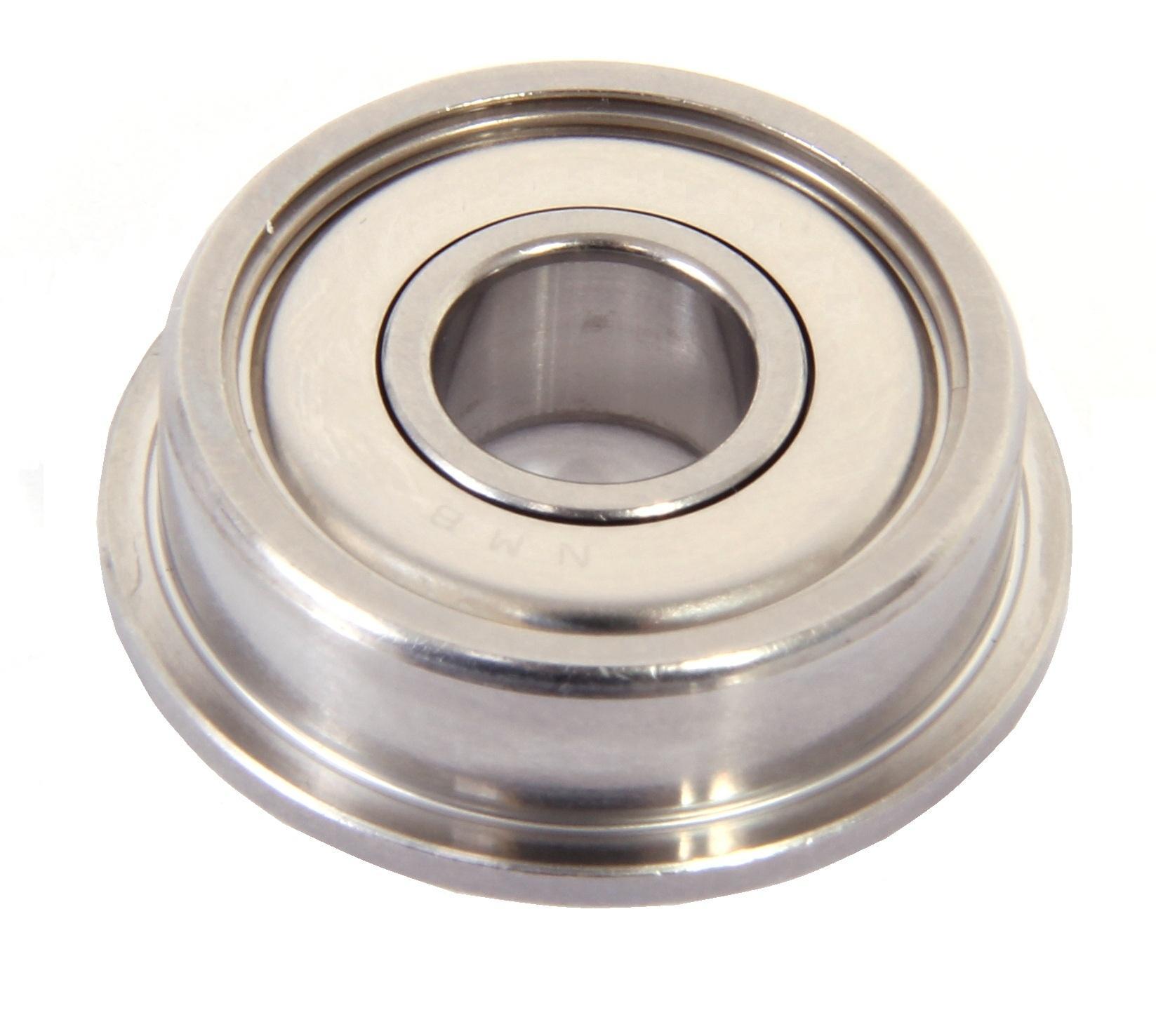 SF684zz 4 PCS 4x9x4 mm Stainless Flanged Ball Bearing Bearings F684zz 4*9*4