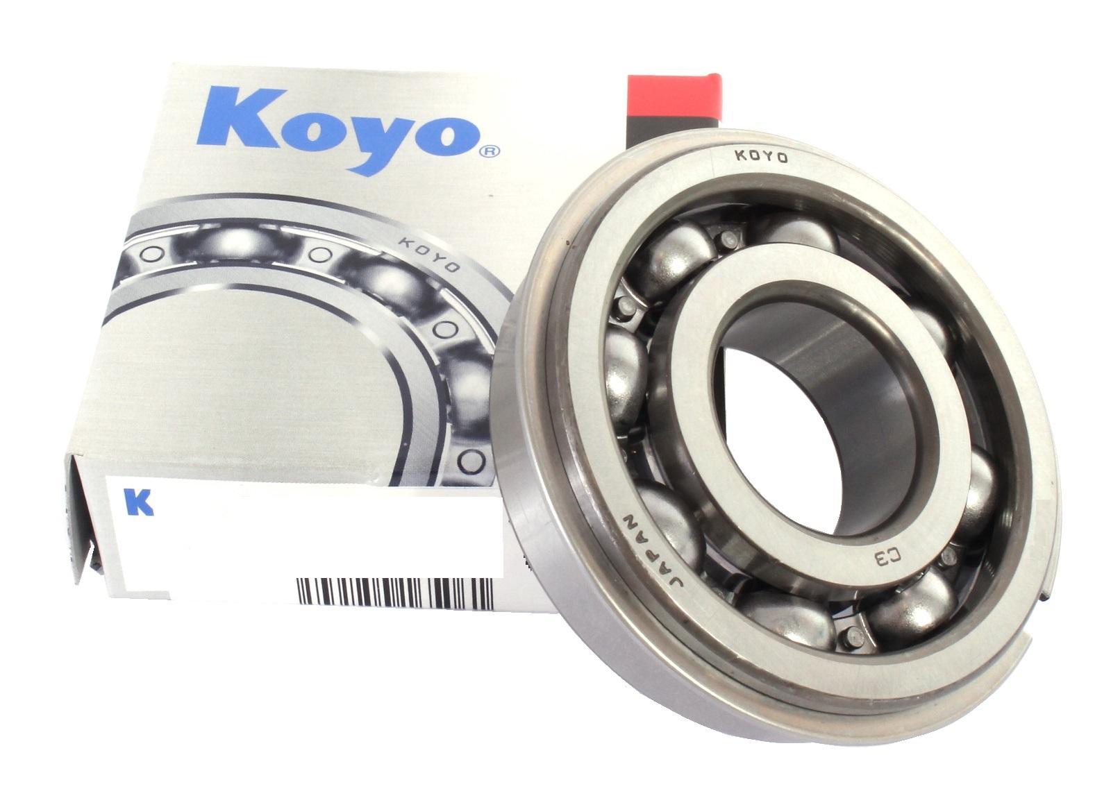 Rodamiento 6208NRC3 con snapring /& Groove Premium Marca Koyo 40x80x18mm