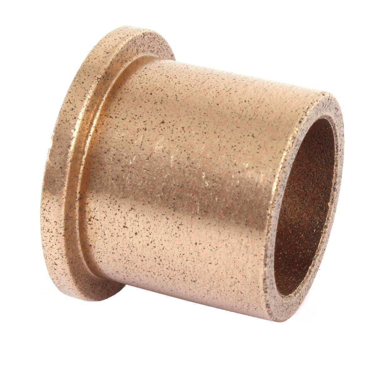 Oilite Bronze Bush Flanged 10mm bore x 13mm OD x 20mm long 17 x 2.5 flange